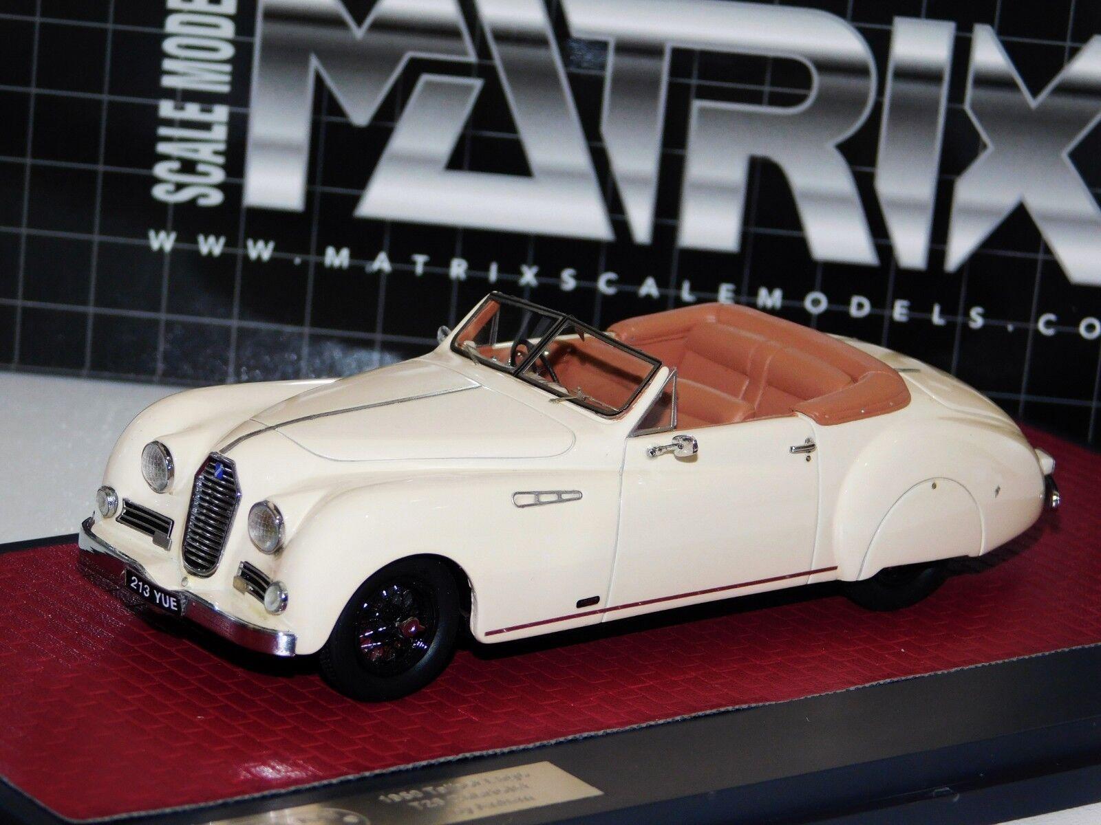 Talbot Lago T26 Cabrio por himno 1950 matriz Lim. MX51904-011 1 43