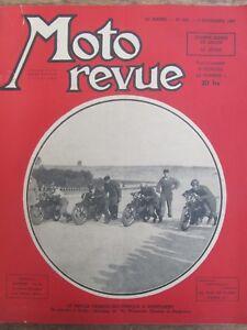 Ancienne Revue Moto Revue N° 903 Novembre 1947 Match Franco Britannique Montlher Excellente Qualité