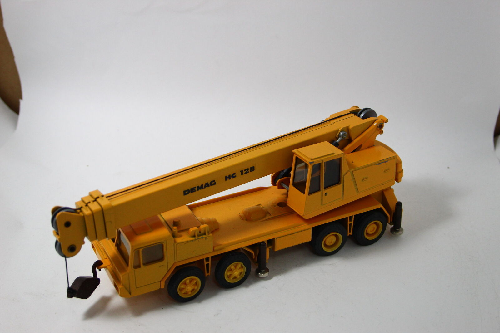 NZG 123 Faun Demag HC 120 Mobile Crane Yellow 1 50