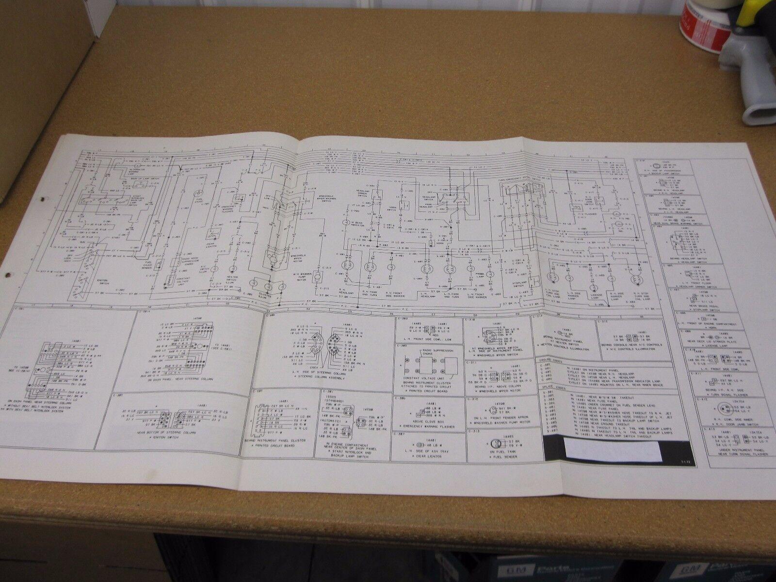 ORIGINAL 1973 Ford Maverick wiring diagram SHEET schematics service manual  | eBay | Ford Maverick Wiring Diagram |  | eBay