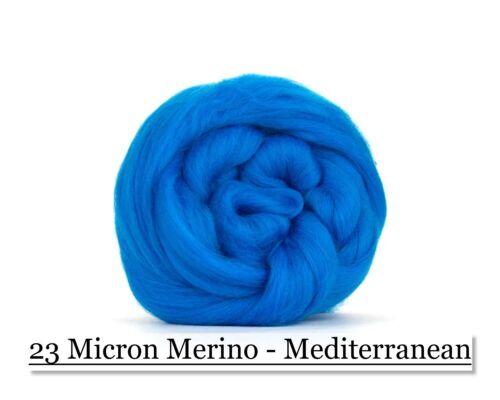 Mediterranean Merino Wool Top 23 Micron