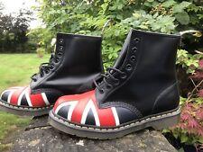 Dr Martens Black Union Jack 10950001 8 Eye Boot U.K. 8 US 9 EU 42