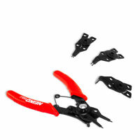 Snap Ring Plier | 4pc Retaining Circlip Remover & Installer Tool 45 & 90 Degree on sale