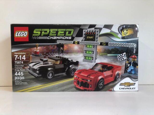 Lego 75874 Speed Champions Chevrolet Camaro Drag Race 2016 Ebay
