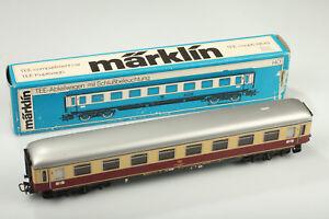 H0-Marklin-4089-Classique-Tee-Abteilwagen-Feu-Arriere-Video-Regardez