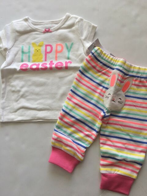 Baby Girl Coming Home My 1st Easter Outfit Happy Easter Baby Girl Outfit Hat /& Headband Easter Leggings Baby Girls First Easter Outfit
