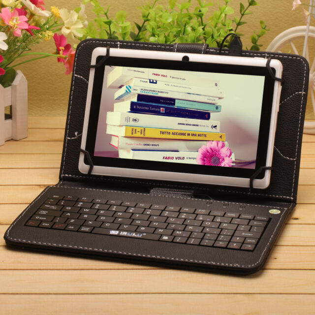 """iRULU eXpro 7"""" 16GB Tablet PC Android 4.4 1.5Ghz Quad Core Capacitive w/Keyboard"""