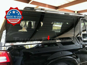 07-17-Ford-Expedition-EL-Rear-Cargo-Chrome-Window-Sill-Trim-Accent-Door-Accent