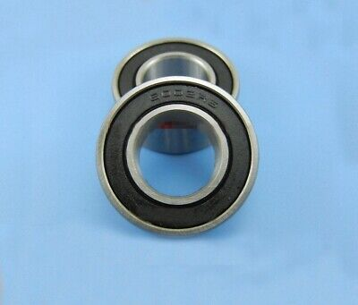 AT Bearing 6x17x6mm RS chrome steel rubber shielded 1pc