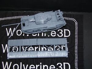 Flames Of War UK Churchill AVRE SBG Small Box Girder 1/100 15mm FREE SHIPPING