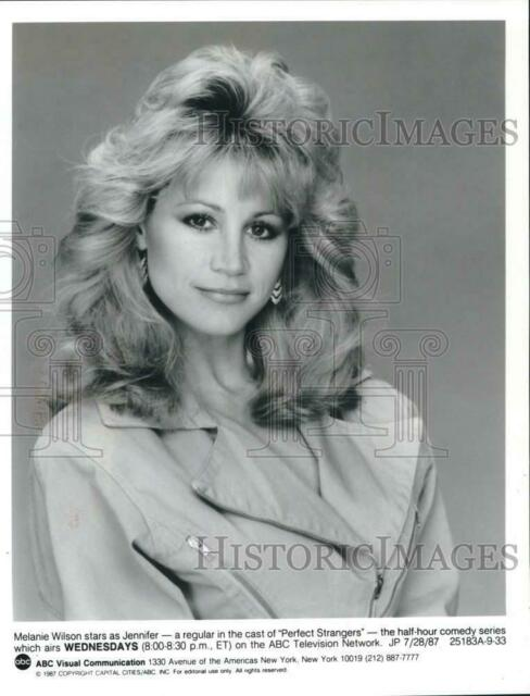 1987 Press Photo Actress Melanie Wilson Stars In The Series Perfect Strangers Ebay