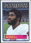 1983 Topps Stanley Morgan #334 Football Card