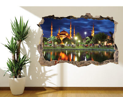 Islam 16703711 Wall sticker Mural Blue mosque Istanbul Turkey photo wall mural