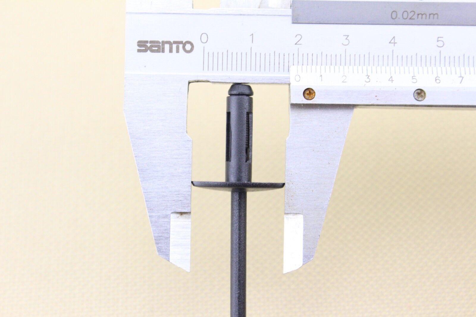 Details about  /NEW 20x Blind Rivet Fits Bumper Door Sill Fender Liner Wheel Well Rocker For BMW