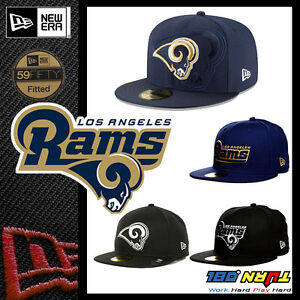 2016-Official-NFL-Los-Angles-Rams-LA-New-Era-NFL-59FIFTY-FITTED-HAT-Cap