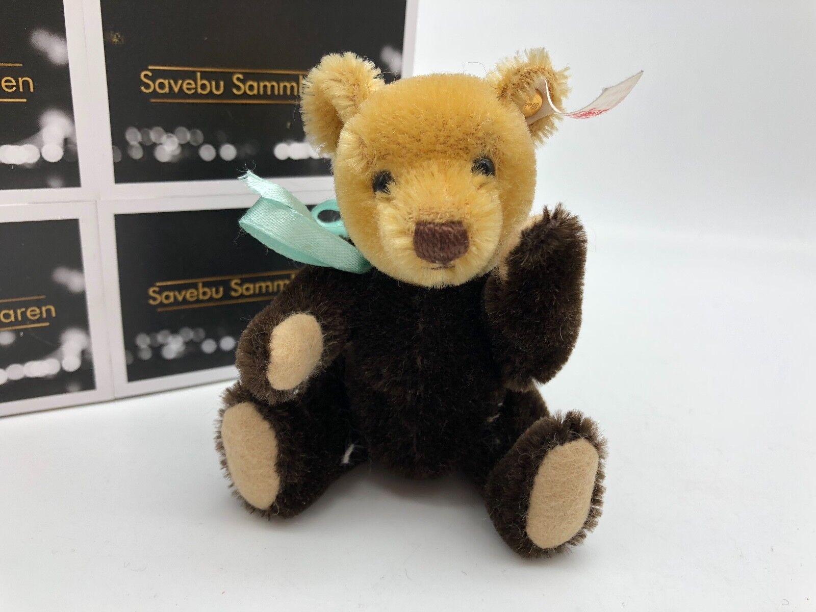 Steiff Animal Teddy Bear ⭐️⭐️ 038716 from Millennium Carousel 12cm Top Condition