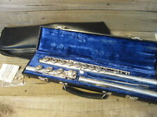 Gemeinhardt Flute French Open Hole B Foot Gold and Silver Limited Edition