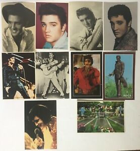 ELVIS-PRESLEY-LOT-OF-10-VINTAGE-POSTCARDS-4-1-4-034-X-6-034