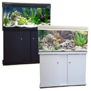 Image Is Loading Fish Tank Cabinet Aquarium LED Lighting Filter Tropical