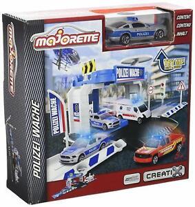 Majorette-212050001-Creatix-Polizei-Office-1-Car-Autobahnen-Zubehoer