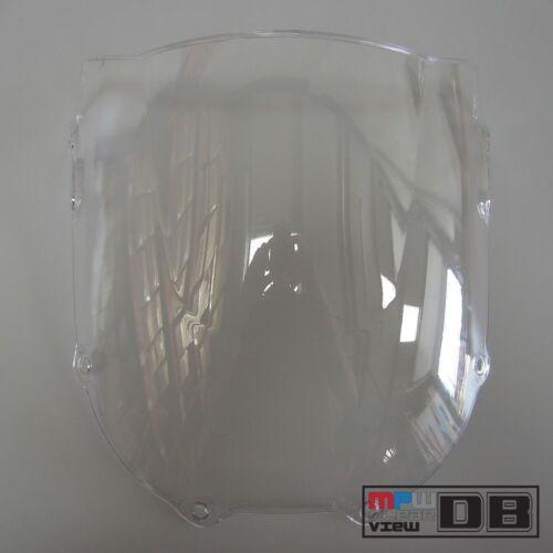 Double Bubble remplacement pare-brise Clair Pour HONDA CBR 900 RR Fireblade 94-97