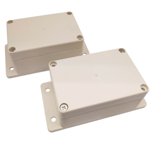 2pcs Plastic Box 165x120x70mm Enclosure Electronic Project Case Instrument Shell