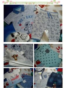 97e9402e4c8c 42x SUMMER TIGER NEW BUNDLE OUTFITS BABY BOY 0/3 M 3/6 MTHS+ ND | eBay