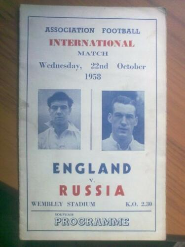 Pirate programme England USSR 1958 from London
