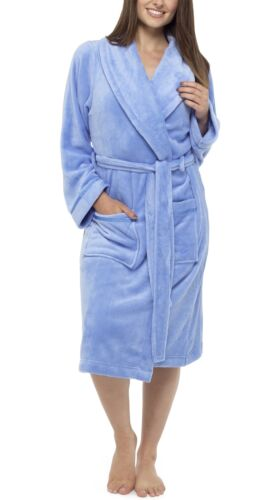 Follow That Dream Plain Supersoft Robe Dressing Gown