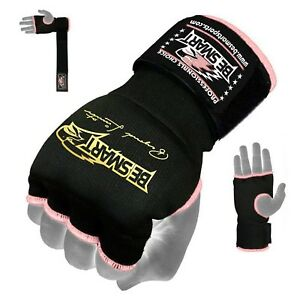 Ladies-MMA-Gel-Inner-Gloves-Boxing-Hand-Wraps-Body-combat-martial-Arts-strap