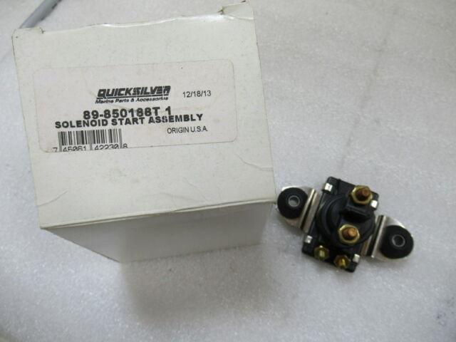 New Mercury Mercruiser Quicksilver Oem Part # 89-850188T 1 Solenoid Assy