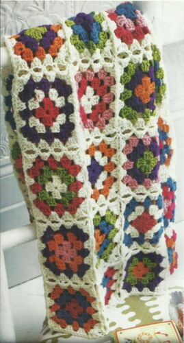 CROCHET PATTERN FOR A CROCHET BLANKET   39 INCHES SQUARE