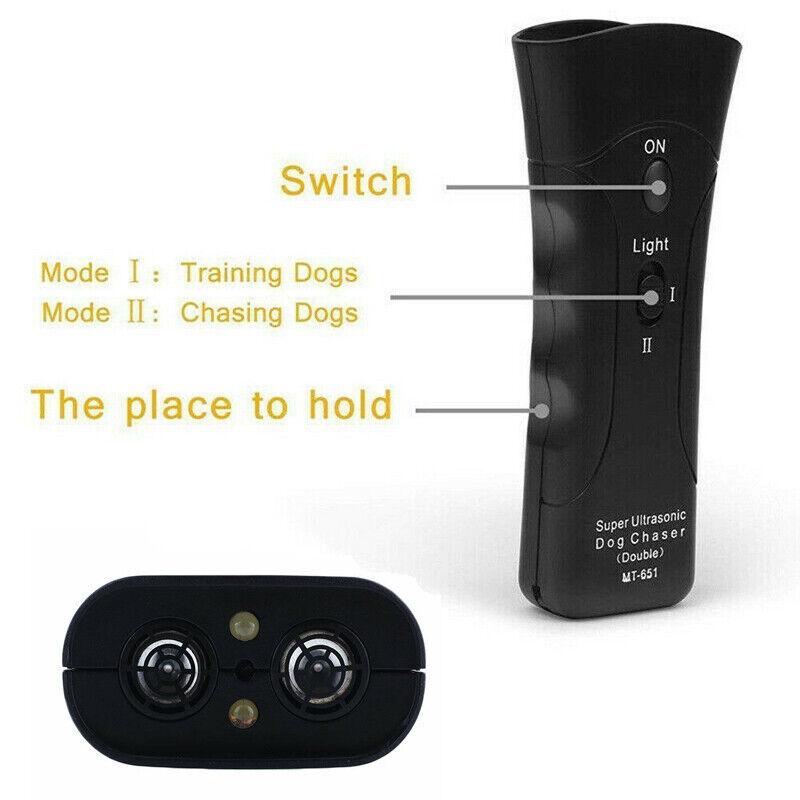 Ultrasonic Dog Training Remote Control  Pet Supplies / Dogs Train New 4