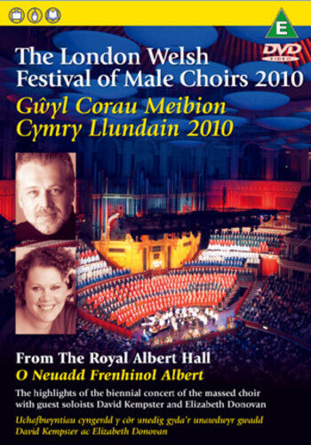 The London Welsh Festival of Male Choirs 2010 DVD (2010) ***NEW***