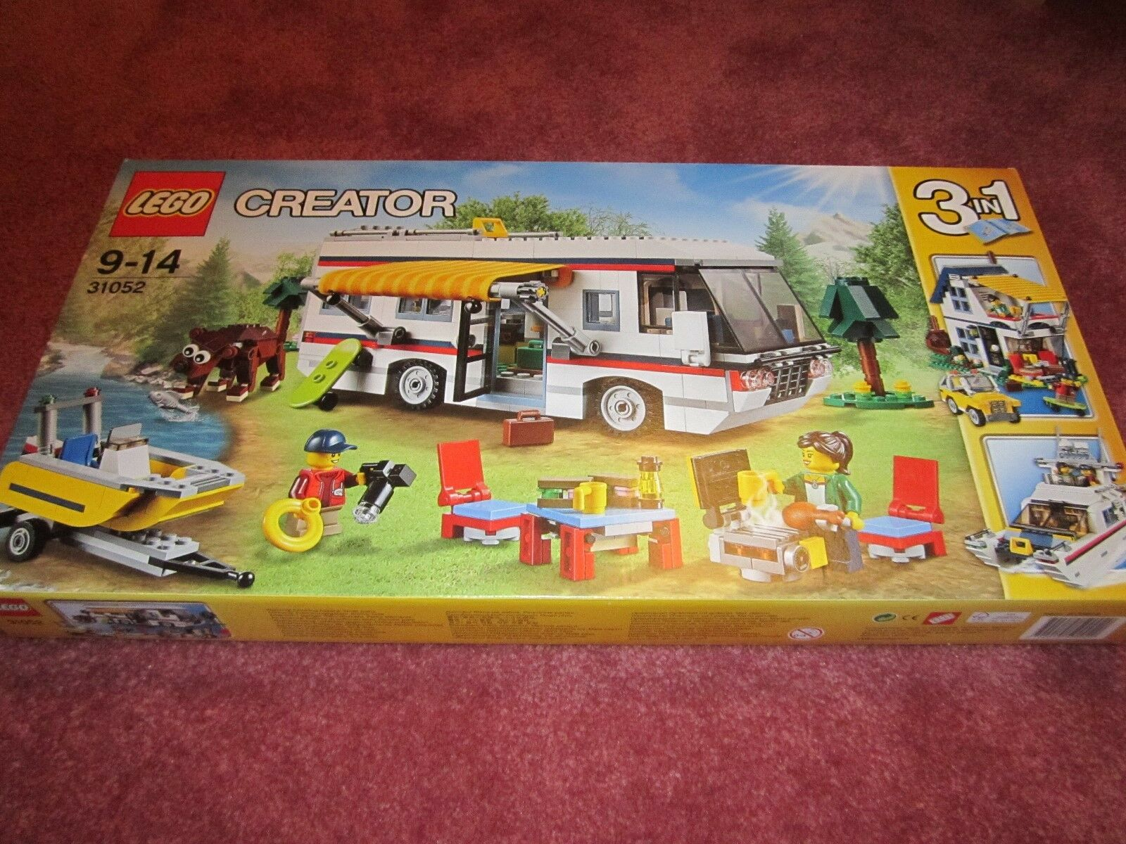 LEGO CREATOR VACATION GETAWAYS 31052 - NEW/BOXED/SEALED