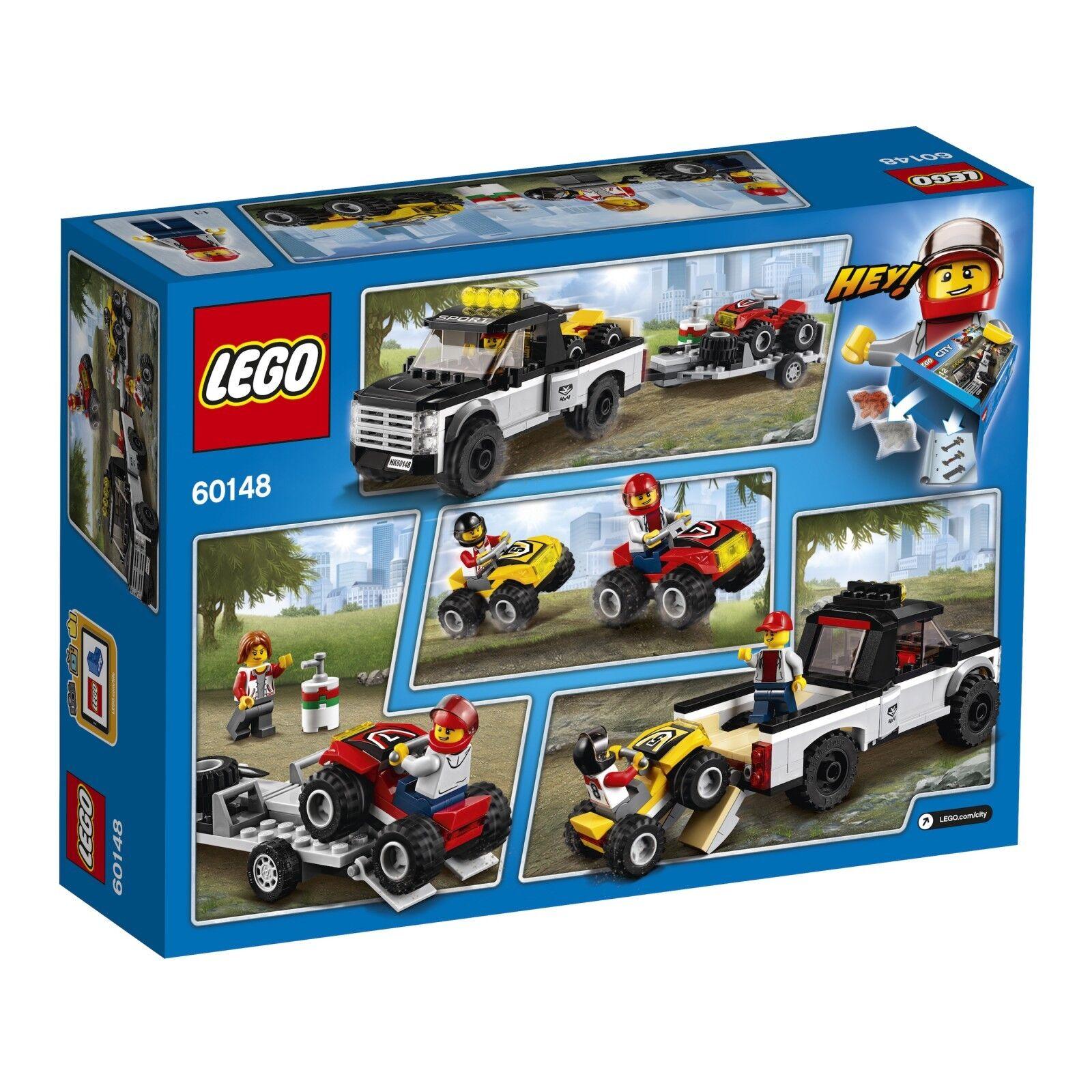 LEGO® City 60148 Quad-Rennteam NEU OVP_ NEW MISB NRFB NRFB NRFB c0538f