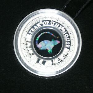 Australien-1-Dollar-2020-034-Australian-Opal-Series-034-Mouse-034-F3743-PP-Proof-5-000