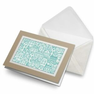 Greetings-Card-Biege-Teal-Hand-Drawn-Houses-Home-21706