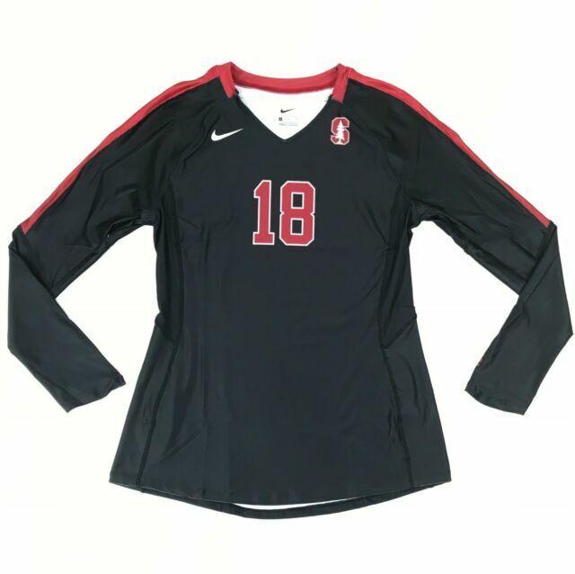 Cabecear sobras Tumba  Nike DQT Vapor Pro Stanford University Volleyball Jersey Women's M Black  915023 for sale online   eBay