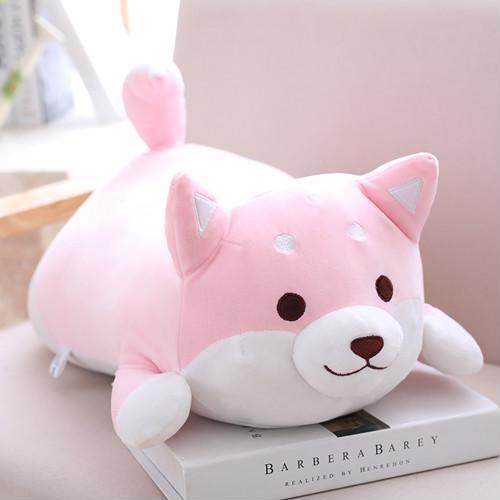 Shiba Inu Dog Plush Toy Stuffed Soft Kawaii Animal Cartoon Pillow Good Quality