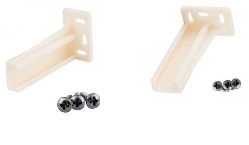 2Pc HR9000RL Rear Drawer Socket Mounting Back Plates Brackets w//screw One Pair