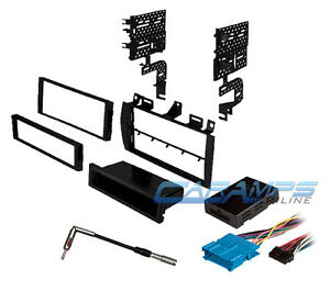s l300 cadillac car stereo radio dash installation kit w bose wiring  at mifinder.co