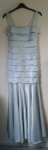 £ Zeldzame elegante 2040 zijden luxe pure Grachvogel Maria jurk10 Britse pk 6f7bYgyv