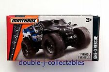 2016 MATCHBOX Power Grabs Box GHE-O Rescue Dark Gray