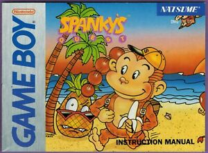 Spanky-039-s-Quest-Nintendo-Game-Boy-Instruction-Booklet-ONLY