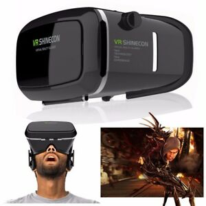 Realite-Virtuelle-3D-VR-Shinecon-Ecouteur-LUNETTES-POUR-IPHONE-ANDROID