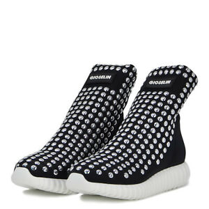 GIOSELIN-SCARPA-DONNA-SNEAKERS-BORCHIE-LIGHT-STUDS