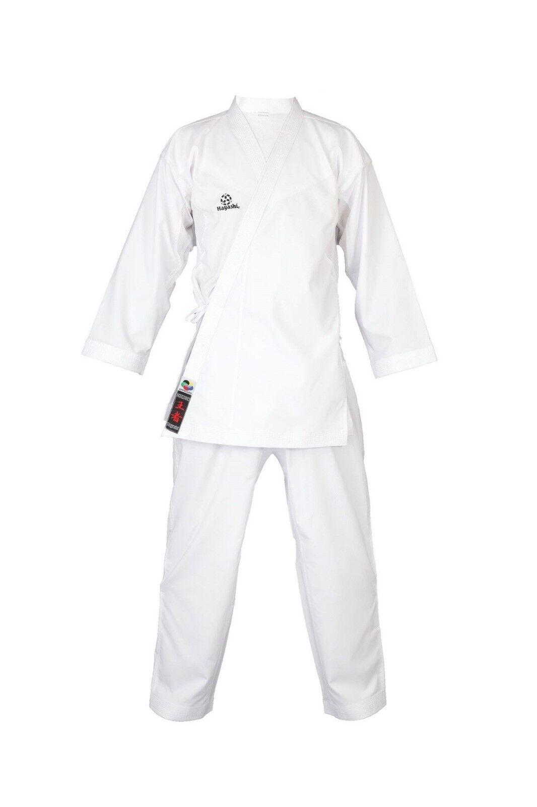 Karategi HAYASHI Kumite Champion Champion Champion FLEXZ. Größe  180 oder 185cm Karateanzug, WKF  | Won hoch geschätzt und weithin vertraut im in- und Ausland vertraut  | Großer Verkauf  f81bb8