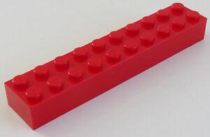 LEGO Baustein 2 x 10 2 x hell-blaugrau neu 3006