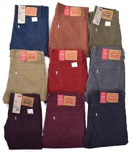 Levis-514-Men-039-s-Casual-Corduroy-Pants-Choose-Color-amp-Size